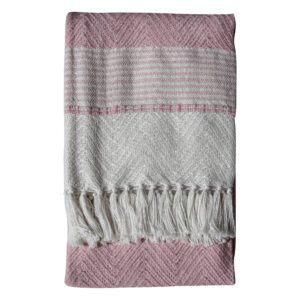 Eco Friendly Luxury Throw – Blush
