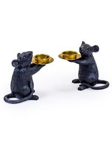 Mellow Mouse Tea Light Holders