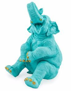Happy Elephant – Blue