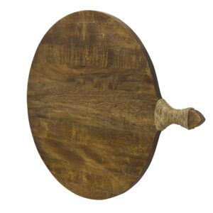 Superb Round Industrial style Serving Board