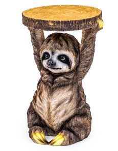 Zany Chilled-Out Sloth Side Table