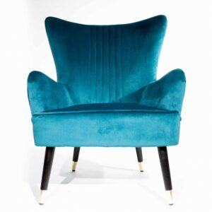 Beautiful Classic Teal Arm Chair