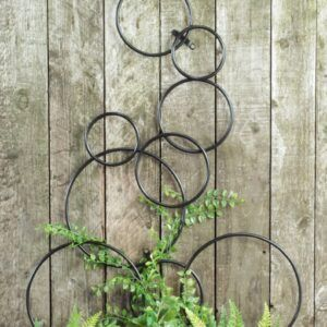 Hand Forged Bubble Garden Trellis